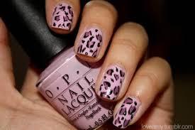 45 cute pink leopard print nail art designs