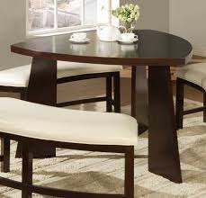 circular dining room homelegance friendship circle dining table 5315