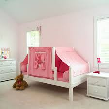 Cute Pink Rooms by Pink Room Wall Idea Feat Modern Kids Full Size Bed Tent With White