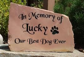 pet memorial pet headstones rock designs