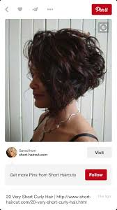 stacked bob haircut pictures curly hair curly stacked bob pinteres