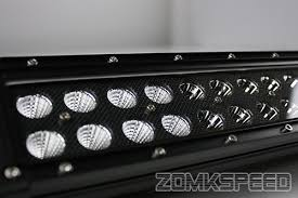 20 In Light Bar For 11 15 F250 F350 F450 21 5