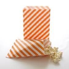 halloween goody bags amazon com orange goodie bags halloween candy treat bags mini
