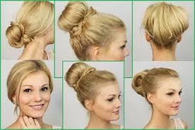 Hochsteckfrisuren Einfach Selbst Gemacht by Einfache Und Schnelle Frisuren Zum Selber Machen Top Frisuren