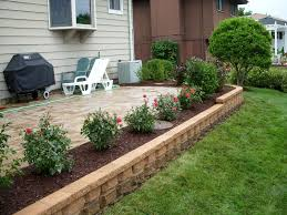 Front Yard Retaining Walls Landscaping Ideas - perfect landscape design ideas around patio patio design 303
