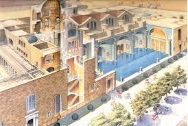 Baths Of Caracalla Floor Plan Baths Of Caracalla