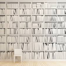 wallpaper like bookshelves google search interieur pinterest
