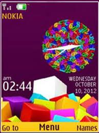 themes nokia c2 mobile colorful squares theme for nokia x2 c2 01 2700 240 320 2700