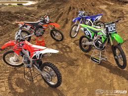 250 motocross bikes 2010 honda crf250r shootout photos motorcycle usa