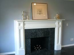 white wood fireplace surround wooden mantels and surrounds