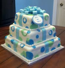 boy baby shower cakes