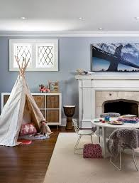 playroom paint color kids eclectic with fireplace mantel eclectic