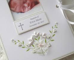 personalized baptism photo album baptism photo album personalized photo album baby gift