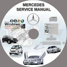 mercedes v class v200 v220 v230 vito vaneo viano service