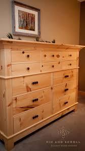Pine Bedroom Dresser Rustic Pine Bedroom Set Large Knotty Pine Dresser 02 Wood