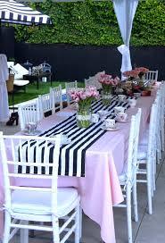 black white striped table runner tablerunner jpg 736 1 079 pixels bridal shower pinterest