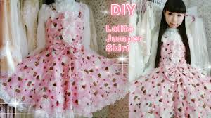 diy sew a cute cupcake jumper skirt in 2 hours easy for