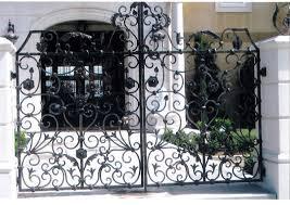 ornamental wrought iron gates san diego