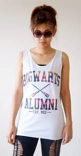 hogwarts alumni tank tank top vest with hogwarts alumni print v 17 4 44