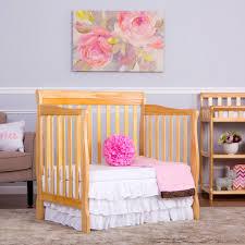 Mini Rocking Crib by Dream On Me Aden Convertible 4 In 1 Mini Crib Natural Toys
