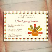 personalized thanksgiving dinner invitations eat drink and be