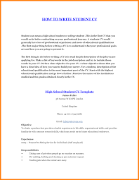 How To Make A Resume Free How To Make A Student Resume Cbshow Co