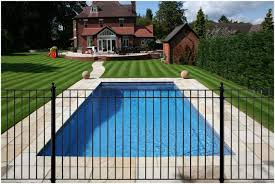 Fence Ideas For Small Backyard by Backyards Mesmerizing Best Wrought Iron Swimming Pool Fencing