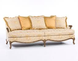 mod fabric french style sofa