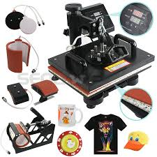 5 in 1 digital heat press machine sublimation for t shirt mug