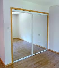 Mirrored Sliding Doors Closet New White Glass Sliding Closet Doors In The Bedroom Dans Le