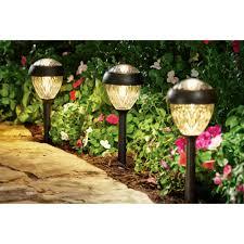 Bronze Landscape Lighting - better homes and gardens park view solar powered landscape light