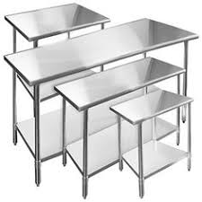 Commercial Prep Table Stainless Steel Kitchen Restaurant Work Prep Table 24 X 48