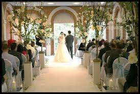 wedding trees beautiful tree lined aisle at great fosters wedding the