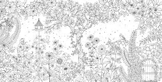 5 best images of garden coloring pages printable detailed