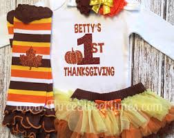 baby thanksgiving fall shirt miss gobble