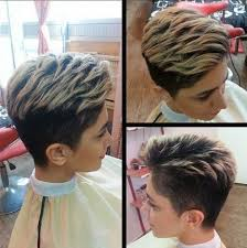 simple clean short haircut with long layers on top hairstyles weekly