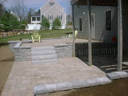 Patio Retaining Wall Pictures Retaining Walls Brick Patios And Granite Steps U2013 Groveland Ma