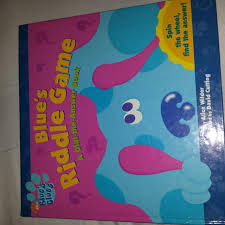 blues clues book tears damage book euc 2 poms