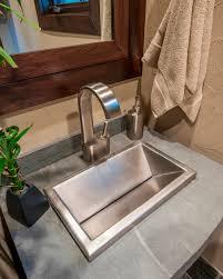 stainless steel bathroom sinks interior design for home remodeling