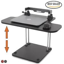 the uptrak standing desk sit stand desk for your cube stand