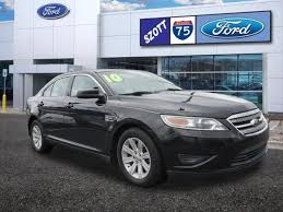 2010 Ford Taurus Interior Used 2010 Ford Taurus For Sale In Holly Mi 1fahp2dwxag126678