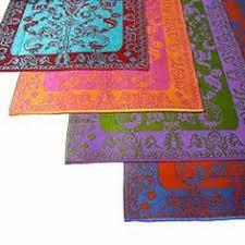 Outdoor Rug Mat Fab Habitat Indoor Outdoor Patio Rug Mat Lhasa Orange Purple