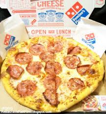 domino pizza hand tossed restaurant fast food menu mcdonald s dq bk hamburger pizza mexican