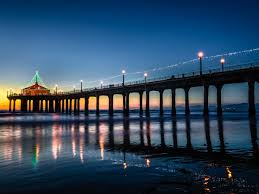 manhattan beach pier lighting 2017 9 spots around los angeles to see christmas lights christmas tree lane