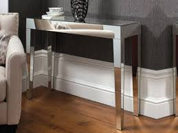 wood and mirrored console table probably table console mirrored perfect best contemporary mirrored