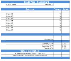 school report template free blank report card fieldstation co