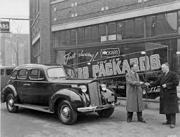 vintage cars 1950s what car dealerships used to look like in toronto