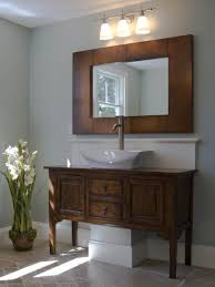 turning stylish with vessel sink vanity in your bathroom