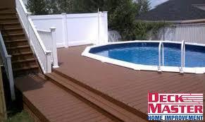 pool decks deck master home improvement company