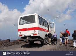 Montana bus travel images Tomassini mercedes 4x4 bus which crawls up the slopes of mt etna jpg